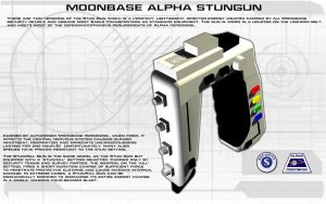 Moonbase Alpha Stungun Tech Readout [new] by unusualsuspex