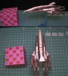 Normadny SR1 -  Micro model - papercraft by kotlesiu