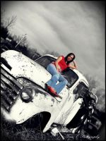 old truck by tinaalreadyinlove