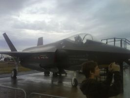 Avalon 2009: F-35 JSF by Griddles