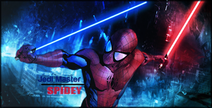 Jedi Master Spidey by Spider-Man91