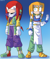 Echidnas of Namek by General-RADIX