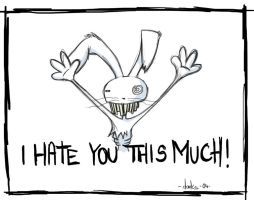I hate you THIS much by darks