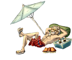 Mages also need a vacation! by gnomKOLIN