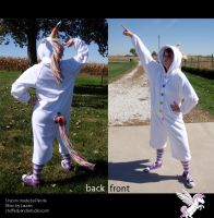 Unicorn kigurumi cosplay by stuffedpanda-cosplay