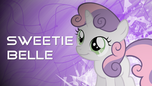 Sweetie Belle Wallpaper by Huskyfan