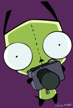 Gir with his camera by 404-error