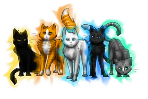 StarClan's Five by WinterstarTheFirst