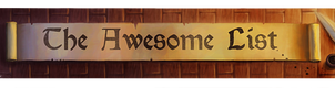 The Awesome List by Catwagons