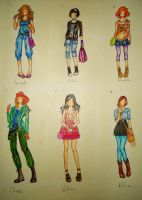 Fandom Outfits - PJatO by Thatu