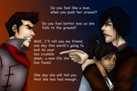 Mako/Korra/Tahno - Face Down by IveWasHere