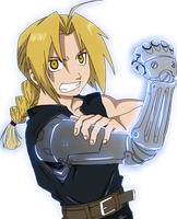 Edward Elric Render by Advance996