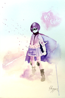Hit-Girl greets you. by SteveHeggen