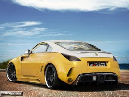 Nissan 350z by roleedesign