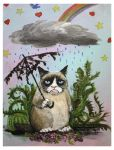 Grumpy Cat by Terrauh