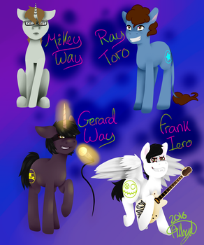 My Chemical Ponys by alloyd-sketches