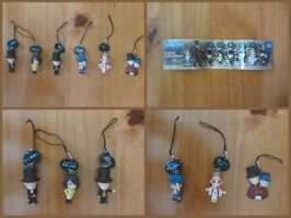 Professor Layton and the Eternal Diva Phone Strap by BenjaminHunter