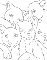base wolf group by Midnightflaze