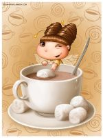 Wanna cocoa? by LiaSelina