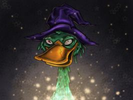 Wizard Duck by BethBH