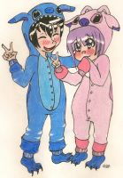 SE: Kigurumi matchies by Sketch75