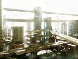 Chase Future City by nerdiesid