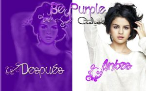 BePurple Action by SellySmilerSwan