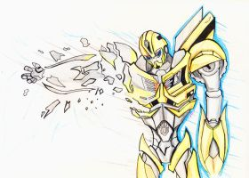 TFP  Angry Bumblebee by autodi