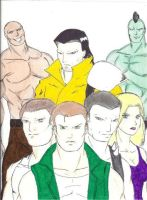Double Dragon-Villains final by regnasis