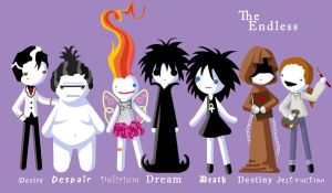 Sandman: The Endless by Manawua