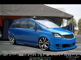Opel Zafira SECRET WAY SERIES by LEEL00