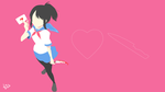 Yandere Simulator | Minimalist Game Wallpaper by Lucifer012