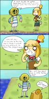 I can't be the only one thinking this (ACNL Comic) by LardPaste