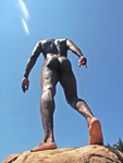 Human Statue 3 by cable9tuba