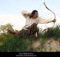 Hungarian Archer 9 by syccas-stock