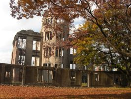 Atomic Bomb Dome by blindbutblink