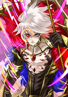 Fate/GO Karna by darkn2ght