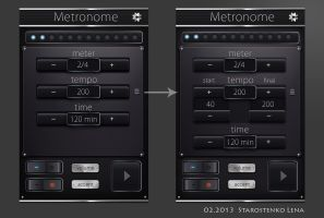 Metronome by Vocouture