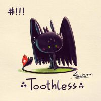 Toothless by FL-ZC