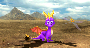 MMD Newcomer Spyro And Sparx + DL by Valforwing