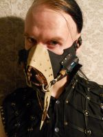 A steampunk breathmask by ChanceZero