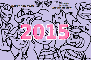 Happy New year! by allyirenejean