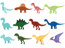 because DINOSAURS by Arcencielz