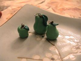 apples and banaynays..ok pears by Remyreaper