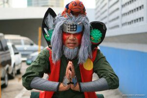 My Jiraiya Sage Mode Stage 2 by greatestsensei
