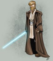 Obi Wan Kenobi colour by thenota
