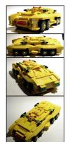 Lego 8 Wheel Armoured Car by Frohickey