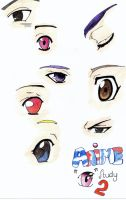 Anime Eyes Study 2 by Gaspodedawonderdog