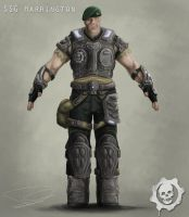 Gears Of War Character Design by dd2005