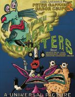 Aahh!! Real Monsters Movie Monster Poster by nickini